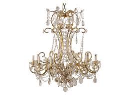 italian 12 arm crystal chandelier