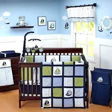 gorgeous explorer nautical piece crib bedding set amp reviews baby nautica sets latest cool ideas all