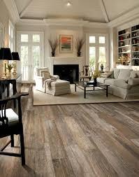 Tile flooring living room Luxury Vinyl Tile Desert Haze Color Floor For White Living Room Sautoinfo 30 Awesome Flooring Ideas For Every Room Hative