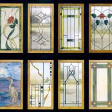 stained glass cabinet door designs