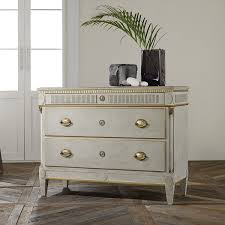 Modern History Danish Three Drawer mode Antique Grey