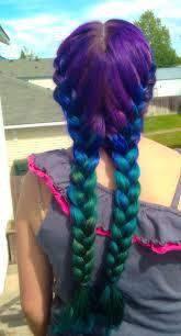 Mermaid Hair Ombre We Used Splat