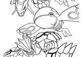 Kleurplaten Pokemon Groudon