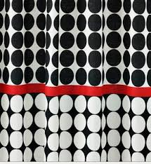 gray and red shower curtain. red black and white shower curtain | curtains bath comforters bedding window gray
