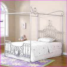 Full Size Canopy Bed For Girl Genwitch