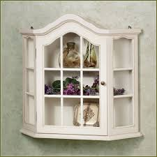 white curio cabinet wall mounted mounts engaging antique corner with glass white curio cabinets distressed cabinet for interior bookingchef