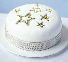 Silver Balls For Cake Decorating New Star Sparkle Cake Recipe BBC Good Food