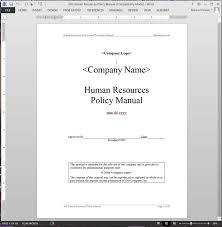 handbook template employee handbook template 2017 hr event planning format