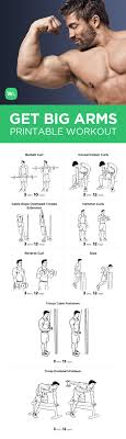 Gym Biceps Workout Chart 15 Memorable Gym Exercise Chart For Biceps Pdf