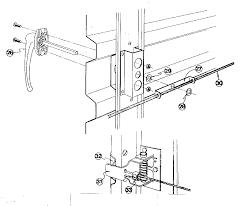 Door lock parts diagram 1024x861 garage door locks parts lock diagram o