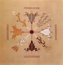 frogs and the four sacred plants eugene baatsoslanii joe mark bahti navajo sandpainting art treasure chest publications inc