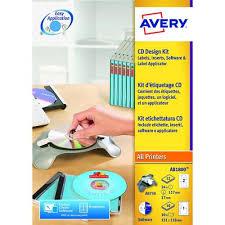 Avery Labels Dvd Avery Afterburner Cd Dvd Label System Kit Ab1800 Av10339