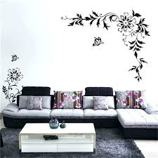 wall stencils art free big size vine flower erfly removable waterproof stickers home decor large for painting