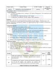 ME222 Thermal Engineering - II   Internal Combustion Engine   Air ...