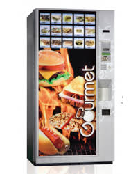 Hot Vending Machine Extraordinary Gourmet Hot Food Vending Machine Vending Design Works