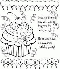 Birthday Cupcakes Coloring Pages Luxury Kleurplaat Feestelijke