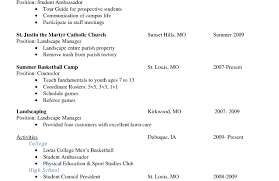 ... resume:Resumes For College Students Lovable Resume For College Student  Seeking Summer Job Praiseworthy Resume ...
