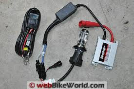 motorcycle hid headlight conversion webbikeworld bikemaster hid headlight conversion kit