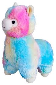 Мягкая <b>игрушка Fancy Гламурная</b> Альпака разноцветная 28 см ...