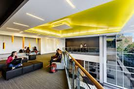best colleges for interior designing.  Designing Best Interior Design School  North Park University  Student Commons Mezzanine To Colleges For Designing O