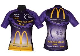 Relay For Life Shirt Designs Ride For Relay Charity Jersey Custom Cycling Gear