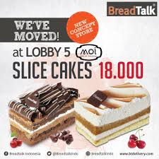 Breadtalk Moi Re Opening Di Mall Of Indonesia Moi All Slice Cake