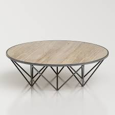 Tribeca Round Coffee Table by RH