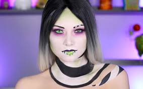 this glam beetlejuice makeup tutorial will transform you into the ghost with the most