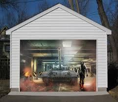 garage door muralsGarage Door Mural tagged 3D Wall Murals Page 5  AJ Wallpaper