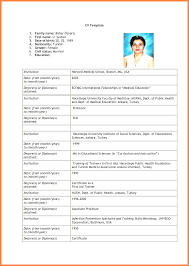 Ultimate Resume Examples For Freshers Pdf Also 6 Curriculum Vitae