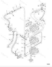 Mercury mercury mariner outboard parts by hp liter 150hp oem parts diagram for fuel lines boats