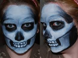 blueberrystarbubbles 117 45 skull face paint ii by foxkat