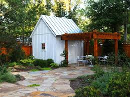 Small Picture 8 She Shed Design Ideas With Staying Power Pergolas White