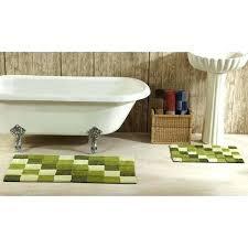 2 piece bath rug set bathroom rugs tiles tufted cotton 2 piece bath rug set