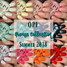 the opi summer 2018 grease collection is a 12 piece collection with a variety of colors to choose from we have a little pastel a little bright and then