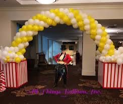 Sports Themed Balloon Decor Balloon Decorations All Things Balloon Inc