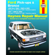 1508667901 11383052_1 haynes repair manual new f150 truck f250 ford f 150 f 250 bronco on does haynes 1987 f150 ford repair manuel have wire diagrams