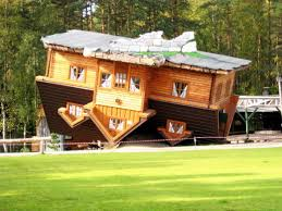 Upside Down House Szymbark Poland Unusual Architecture