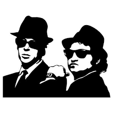 the blues brothers vinyl wall art decal on blues brothers wall art with the blues brothers vinyl wall art decal