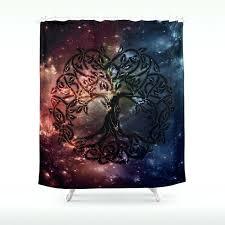tree of life shower curtain viking tree of life shower curtain tree of life fabric shower curtain