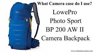 <b>LowePro Photo Sport</b> BP <b>200</b> AW II Backpack Review - YouTube