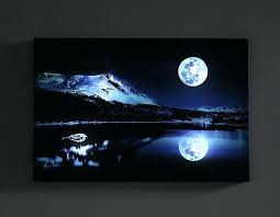 light up pictures led light up canvas art paintings for modern home wall decor inspirational light