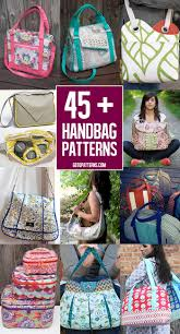 Handbag Patterns Cool 48 FREE Bag Pattern Tutorials Andrea's Notebook