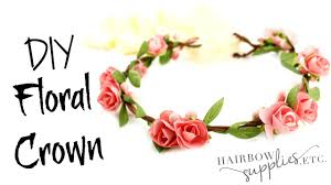 fl crown tutorial baby flower crown hairbow supplies etc you