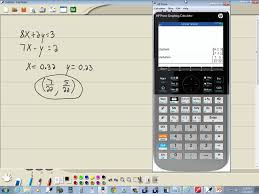 technology in college algebra systems of equations solving by matrices hp prime you