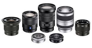 e mount lenses for sony mirrorless cameras