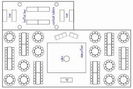 wedding reception layout wedding floor plans rectangular tables lovely rectangle and circle