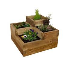 caledonian 3 tiered raised garden bed planter frame