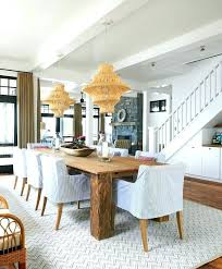 coastal farmhouse dining room with jute twine chandeliers rustic bedroom furniture chandelier modern lights ch