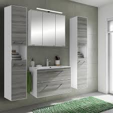 Badezimmer Möbel Set Fes 3065 66 100cm Waschtisch Spiegelschrank Und